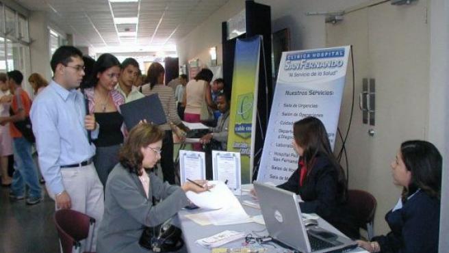 La VI Feria de Empleo de Donostia está organizada por la Sociedad de Fomento de San Sebastián. ARCHIVO/20MINUTOS