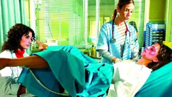 Una escena de la serie de televisión Hospital Central