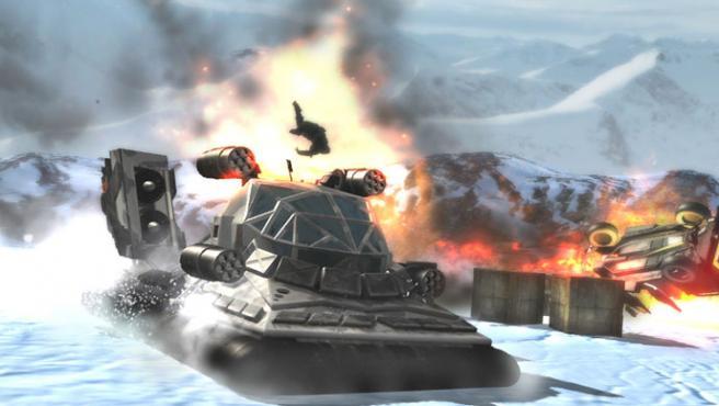 'Stuntman: Ignition', uno de los juegos de THQ que no han alcanzado el éxito esperado.
