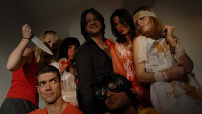 Imagen del rodaje del capítulo 8 de 'Amor sobrenatural'.