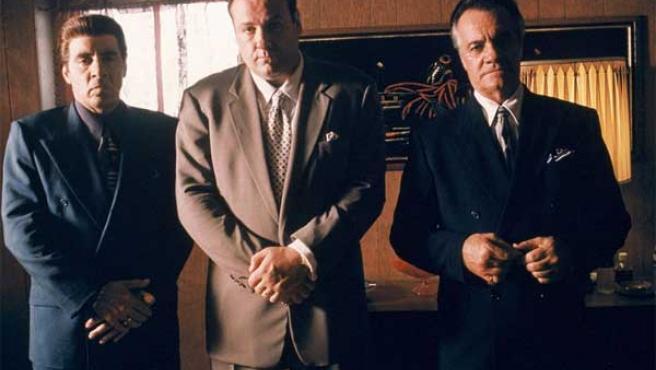 Imagen de la célebre serie televisiva 'Los Soprano'.