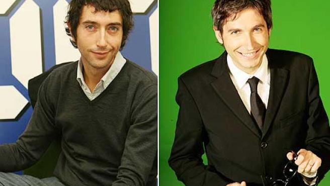 Toni Garrido y Frank Blanco, dos de los presentadores del nuevo 'CQC'.