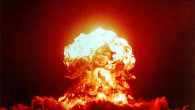 Bomba atómica.
