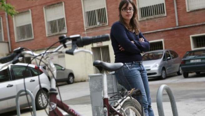 Marta es una de las ecfectadas por los robos masivos de bicis.