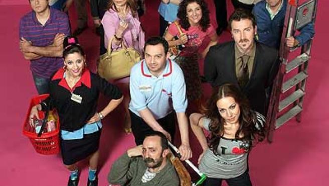 El reparto de 'La tira', la nueva serie diaria serie de La Sexta.