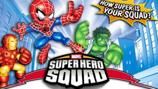 Los personajes de Marvel vivirán en Supr Hero Squad sus aventuras más divertidas (y también las menos épicas).