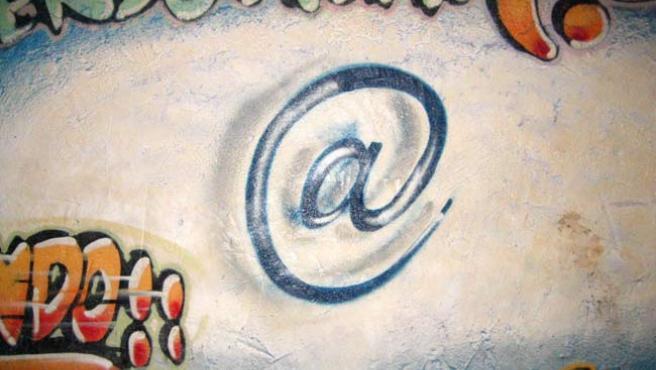 Arroba, símbolo de la red.