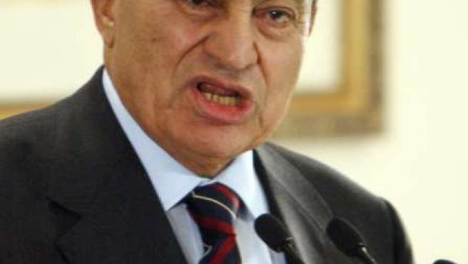 Mubarak, en una imagen de archivo.