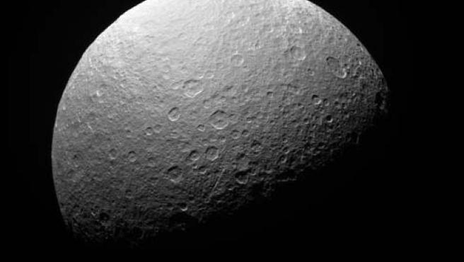 Rea tiene una de las superficies más viejas conocidas