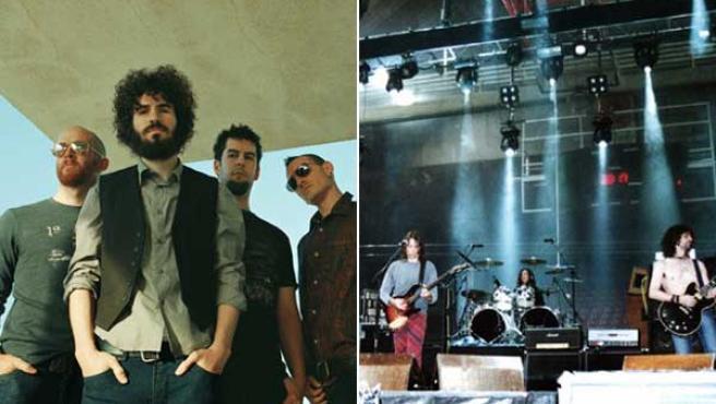Las bandas Linkin Park y Extremoduro. FOTO: ARCHIVO