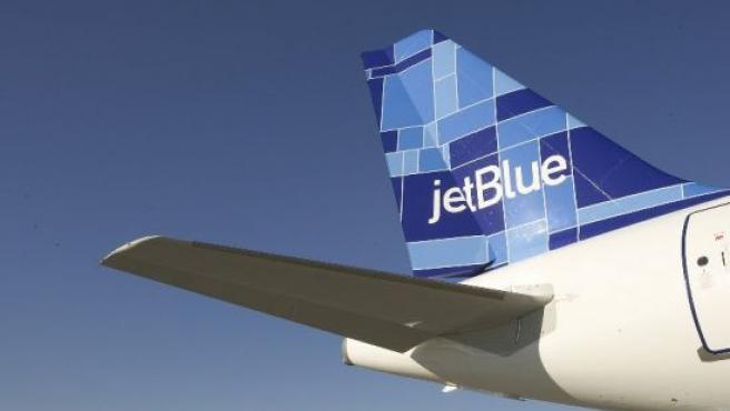 Un avión de la compañía demandada, Jet Blue. (JETBLUE)