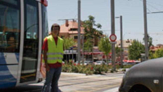 El metro ligero del Oeste conecta Colonia Jardín con Boadilla del Monte y Aravaca.