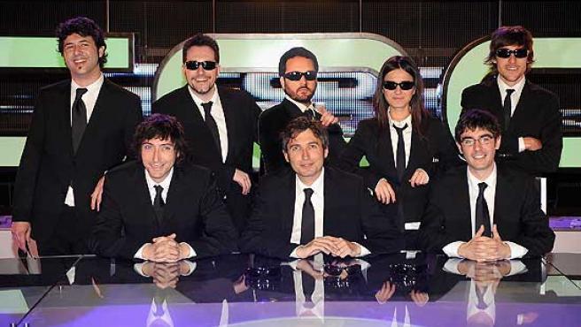 El nuevo equipo de 'Caiga quien Caiga'.