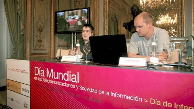 El fundador de Tuenti y Emilio Márquez, CEO de Networking Activo.