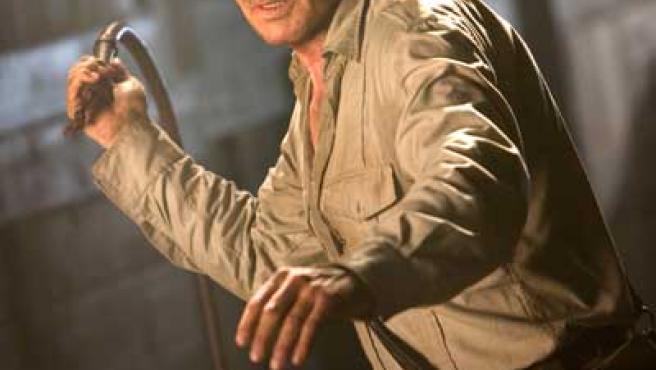 Harrison Ford es el protagonista de la tetralogía de Indiana Jones. Foto: AGENCIAS.