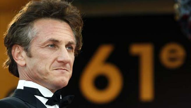 Sean Penn, en el Festival de Cannes. (Jean-Paul Pelissier / Reuters).