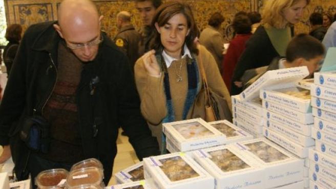 Sevilla celebra todos los años una feria de dulces de convento.