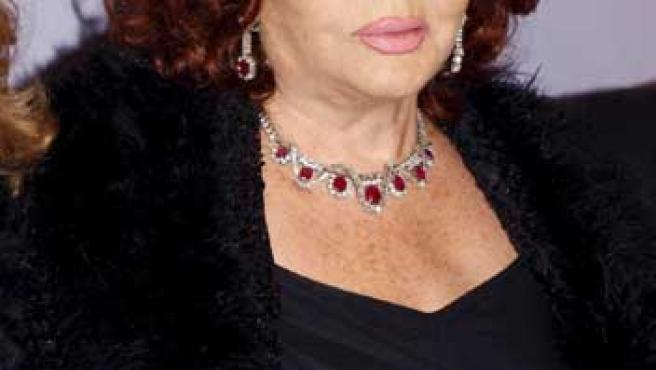 La actriz y cantante Sara Montiel ya es octogenaria.