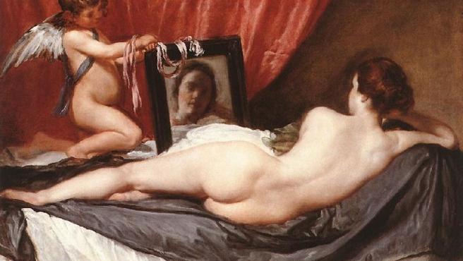 Venus ante el espejo.