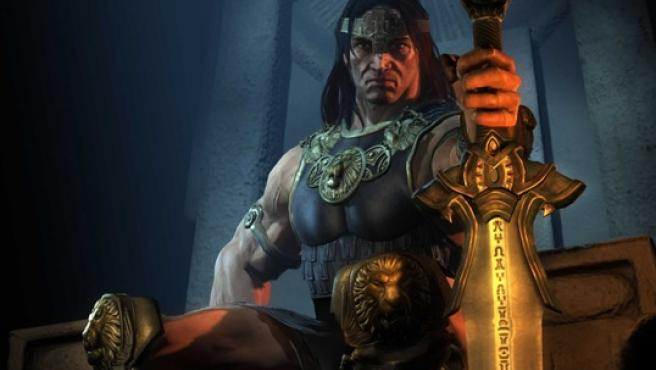 Conan aparece como Rey en este nuevo juego online persistente.