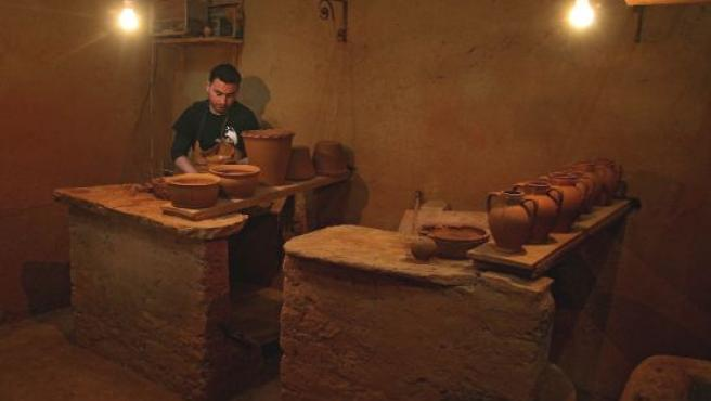 La alfarería artesanal de este horno mozárabe es única en España.