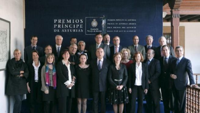 Jurado del Premio Príncipe de Asturias de las Artes 2008