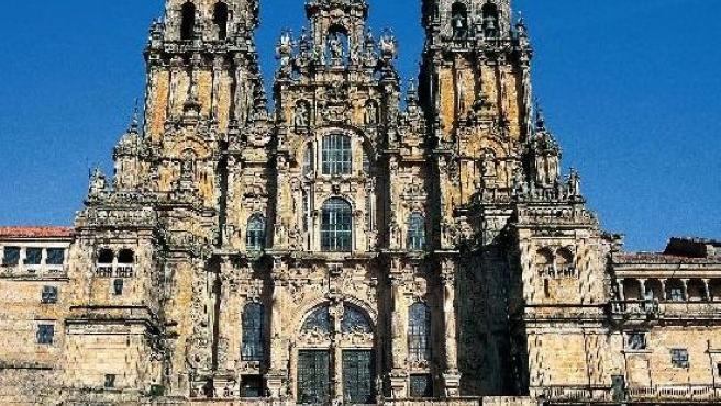 Panorámica de la catedral de Santiago de Compostela. (ARCHIVO)
