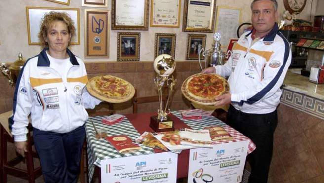 Estas son las dos pizzas españolas ganadoras (EFE).