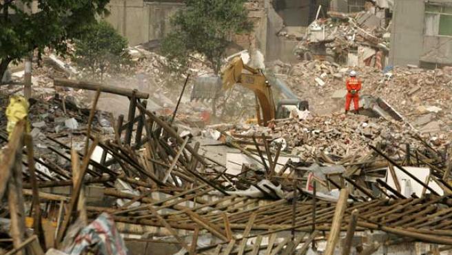 Las labores de reconstrucción de la zona afectada pueden durar hasta tres años. (REUTERS)