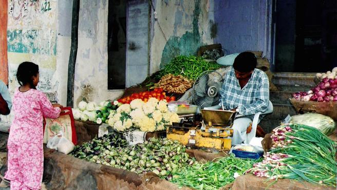 La creciente demanda de alimentos en la India es una de las causas de la crisis. (Gloria Nieto)