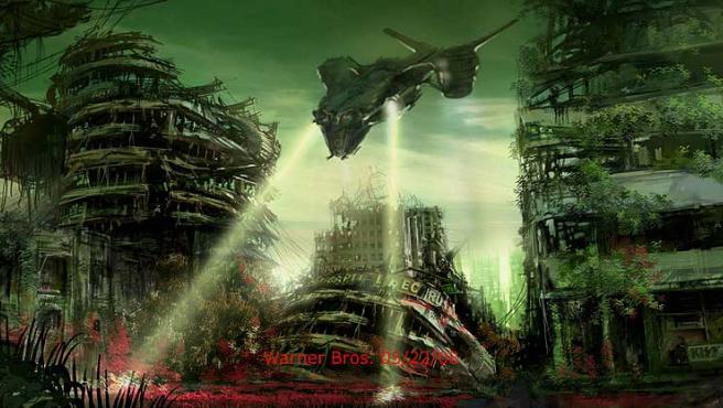 Uno de los primeros diseños de 'Terminator Salvation: The Future Begins'.