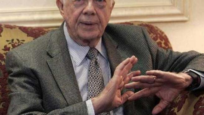El ex presidente estadounidense, Jimmy Carter. (REUTERS)