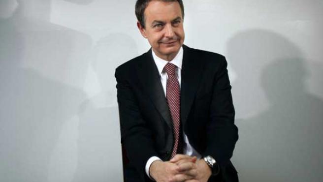 Una imagen de archivo del presidente del Gobierno, José Luis Rodríguez Zapatero.