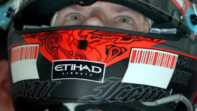 Kimi Raikkonen, piloto de Ferrari, en Bahrein. (EFE)