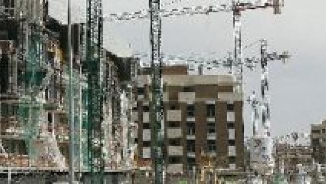 Barriada en construcción (ARCHIVO).