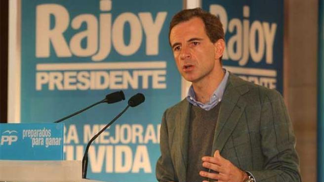 Juan Costa, en un acto del partido (Wikipedia)