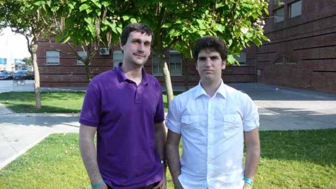 José Manuel Moreno Rofa (Rofa)yRubén Castilla Sánchez (Takeshi), creadores del blog.