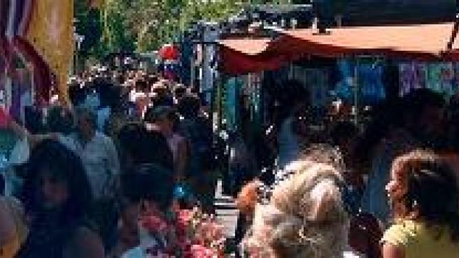 """""""Los Invasores""""; imagen típica de los Martes en Albacete"""