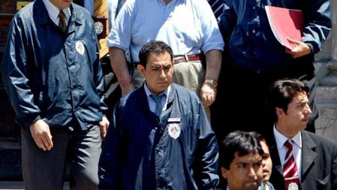 Imagen de archivo del máximo responsable de la DINA, el general retirado Manuel Contreras. (REUTERS).