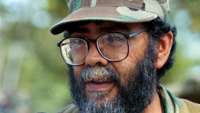 El miembro del Secretariado de las FARC, Guillermo León Sáenz, alias 'Alfonso Cano'. (EFE)