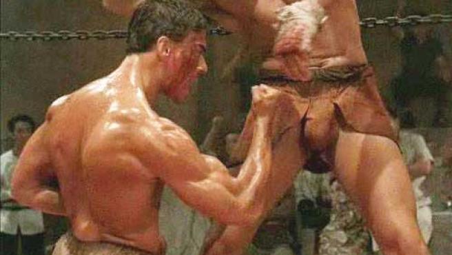 Jean-Claude Van Damme en 'Kickboxer'.