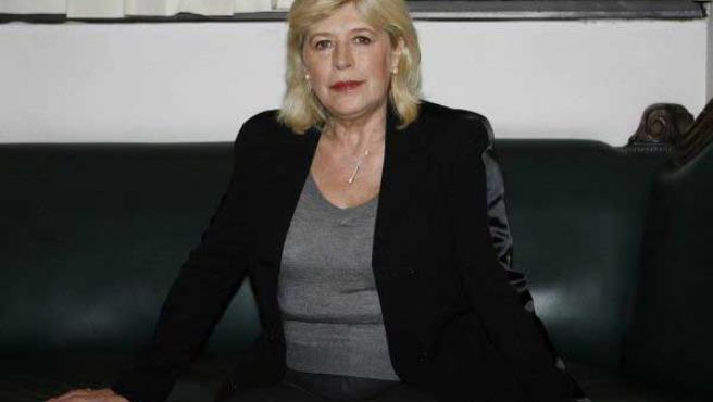 La cantante Marianne Faithfull en una imagen de archivo.
