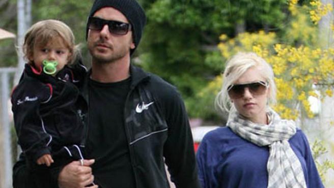 Kingston, Gavin Rossdale y gewn Stefani. (Foto: FLYNET)