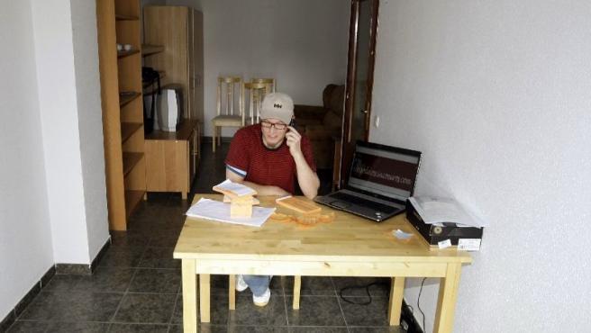 Miguel Marina rifará su piso en Ciempozuelos el año que viene. (EFE)