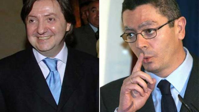 Federico Jiménez Losantos y Alberto Ruiz-Gallardón.