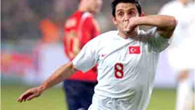 El goleador del Villarreal, Nihat, es el goleador de Turquía