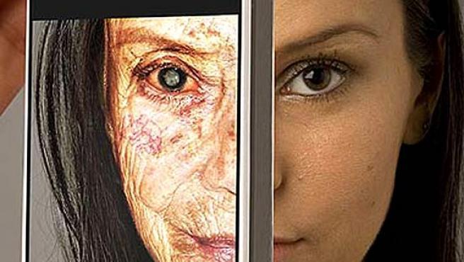 Imagen de una campaña contra el tabaco en Brasil.
