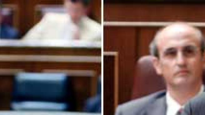 Zapatero y Rajoy, en la sesión de control al Gobierno en el Congreso.