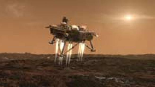 Varias imágenes del planeta rojo. (ARCHIVO)
