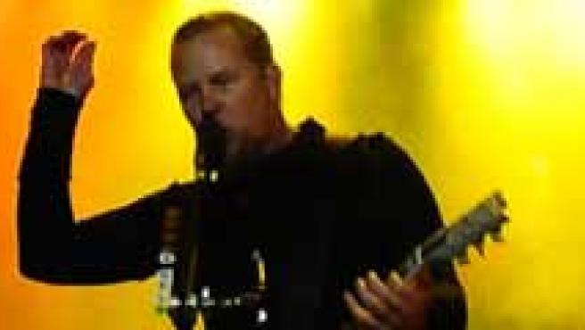 Hetfield, en el escenario. (Electric Weekend)